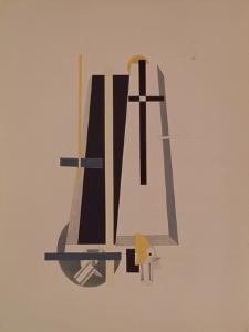Coffin-Makers, 1920-1921 by El Lissitzky