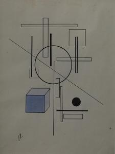 Composition, 1920 by El Lissitzky