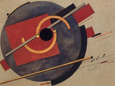 Study for a Poster, 1920 by El Lissitzky