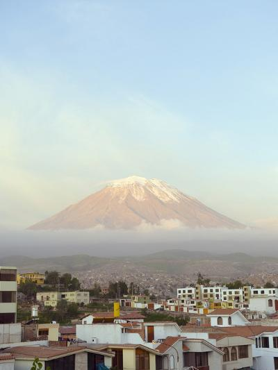 El Misti Volcano, 5822M, Above City, Arequipa, Peru, South America-Christian Kober-Photographic Print