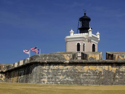 El Moro Fortress, UNESCO World Heritage Site, San Juan, Puerto Rico, USA, Caribbean-Kymri Wilt-Photographic Print
