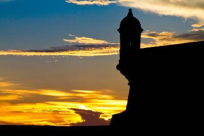 El Morro Fort at Sunset, Puerto Rico-George Oze-Photographic Print