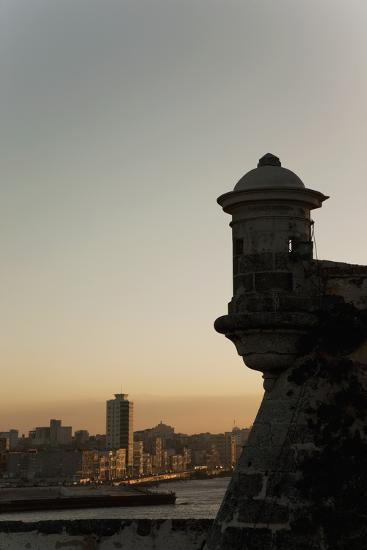 El Morro Fortress at Sunset, Havana, Cuba, West Indies, Central America-Angelo Cavalli-Photographic Print