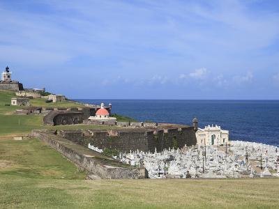 El Morro (Morro Castle), San Felipe, UNESCO World Heritage Site, San Juan, Puerto Rico, USA-Wendy Connett-Photographic Print