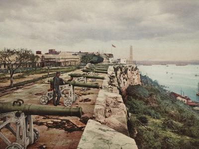 El Parapeto De La Cabana, Havana-William Henry Jackson-Photo