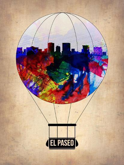 El Paseo Air Balloon-NaxArt-Art Print