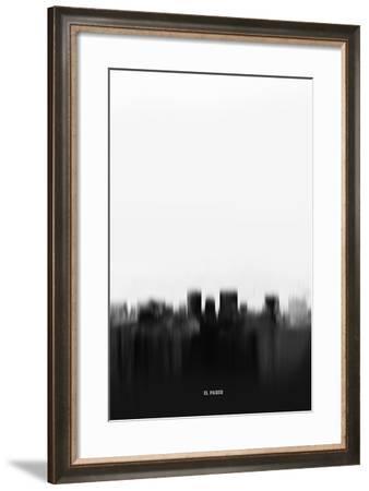 El Paso Downtown-NaxArt-Framed Art Print