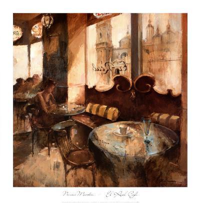 El Real Cafe-Noemi Martin-Art Print