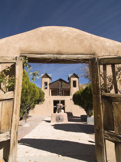 El Santuario De Chimayo, Built in 1816, Chimayo, New Mexico, United States of America, North Americ-Richard Maschmeyer-Photographic Print