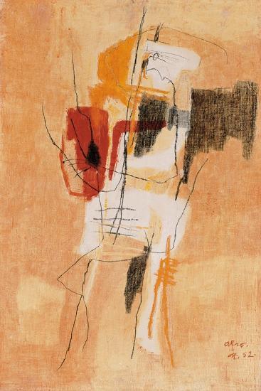 El Sereno-Afro Basaldella-Giclee Print