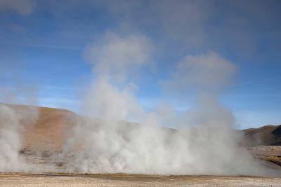 El Tatio Geyser Located in the Andes in Northern Atacama, Chile-Mallorie Ostrowitz-Photographic Print