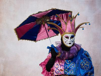 Elaborate Costume for Carnival, Venice, Italy-Darrell Gulin-Photographic Print