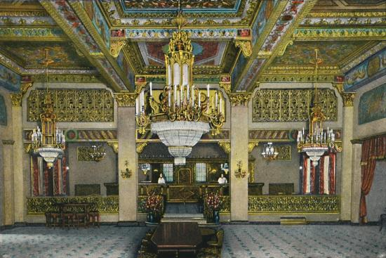 'Elaborate Interior of Casino and Famous Gold Bar, Hotel Agua Caliente', c1939-Unknown-Giclee Print