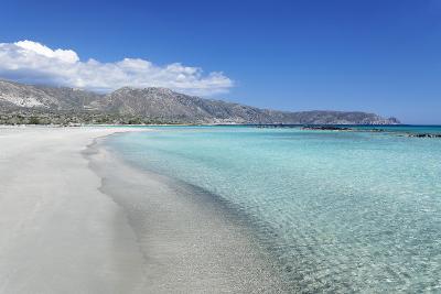 Elafonisi Beach, West Coast, Natural Park, Red Sand, Crete, Greek Islands, Greece, Europe-Markus Lange-Photographic Print