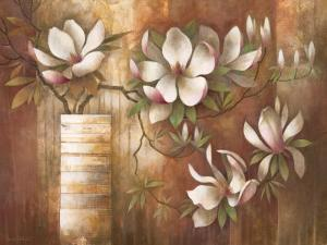 Southern Magnolias by Elaine Vollherbst-Lane