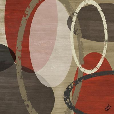 Elastic Red I-Michael Marcon-Art Print