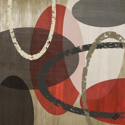 Elastic Red II-Michael Marcon-Art Print
