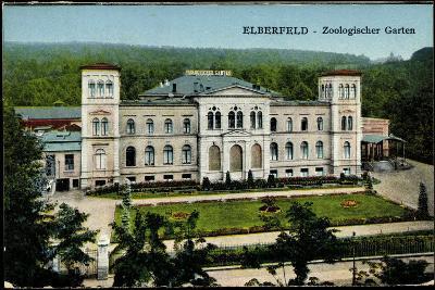Elberfeld Wuppertal, Blick Auf Den Zoologischen Garten--Giclee Print