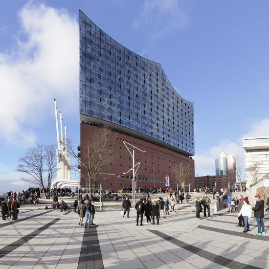 Elbphilharmonie, HafenCity, Hamburg, Hanseatic City, Germany, Europe-Markus Lange-Photographic Print