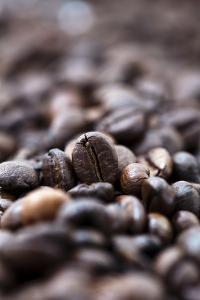 Coffee Beans - Bokeh by Eldad Carin