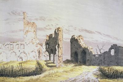 Elden Monastery-Caspar David Friedrich-Giclee Print