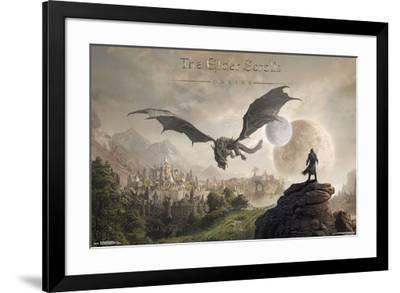 Elder Scrolls Online - Elsweyr--Framed Poster