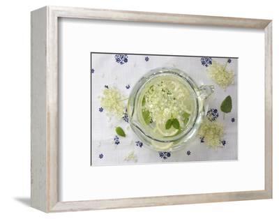 elderflower syrup-Martina Elisabeth Tasch-Framed Photographic Print