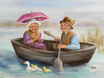 Elderly Couple-Dianne Dengel-Giclee Print