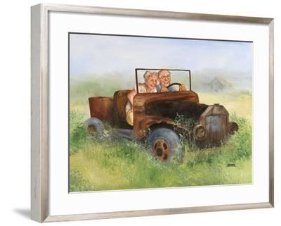 Elderly Couple-Dianne Dengel-Framed Giclee Print