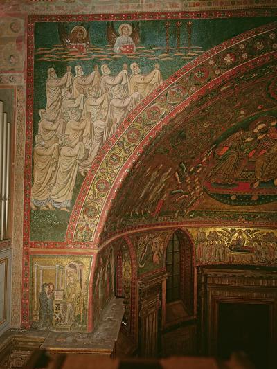 Elders of the Apocalypse, Santa Maria Maggiore, Rome (Mosaic)--Photographic Print