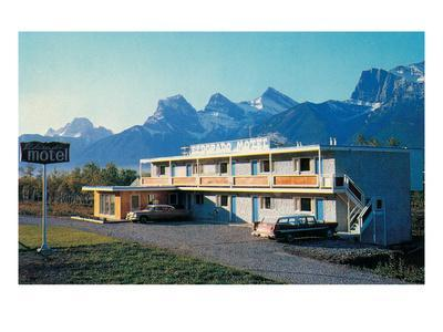 Eldorado Motel in the Mountains--Art Print