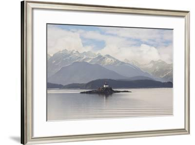Eldred Rock Lighthouse, Alaska '09-Monte Nagler-Framed Photographic Print