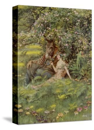 A Midsummer Night's Dream, Titania Bottom and Puck