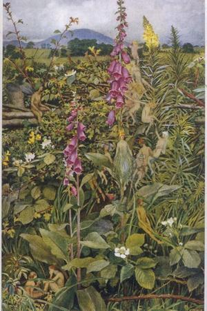 Naked Fairies Among the Foxgloves in Ancient Britain
