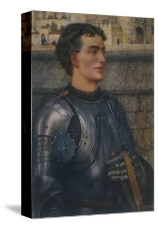 Sir Lancelot Goes to Guinevere as Ambassador