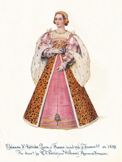 Eleanor of Austria, Queen of France, Second Wife of Francis 1st,', 1911.-Unknown-Giclee Print