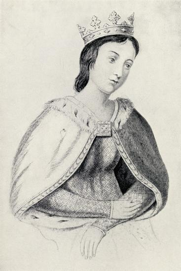 Eleanor of Provence--Giclee Print