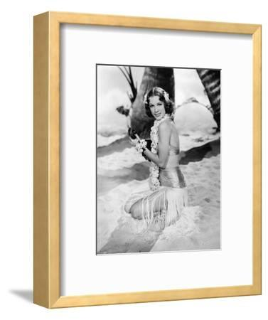 "Eleanor Powell. ""Honolulu"" [1939], Directed by Edward Buzzell."