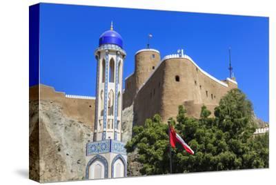 Blue Domed Mosque Minaret, Oman