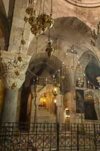 Chapel, Church of the Holy Sepulchre, Old City, Christian Quarter, Jerusalem, Middle East by Eleanor Scriven