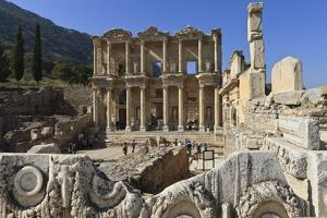 Library of Celsus, Roman Ruins of Ancient Ephesus, Near Kusadasi by Eleanor Scriven