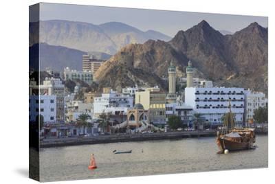 Mutrah Corniche and Entrance to Mutrah Souq, Oman