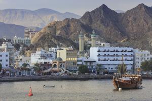 Mutrah Corniche and Entrance to Mutrah Souq, Oman by Eleanor Scriven