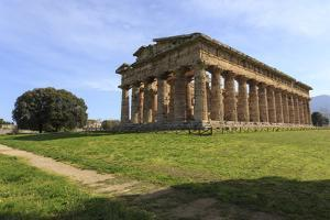 Temple of Neptune, 450 Bc, Largest and Best Preserved Greek Temple at Paestum, Campania, Italy by Eleanor Scriven