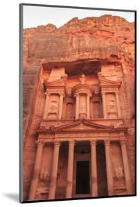 The Treasury (Al-Khazneh), Petra, UNESCO World Heritage Site, Jordan, Middle East by Eleanor Scriven