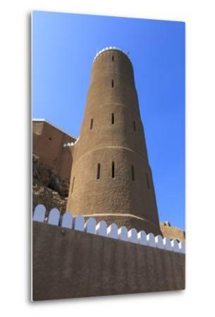 Tower of Al-Mirani Fort, Old Muscat, Oman, Middle East