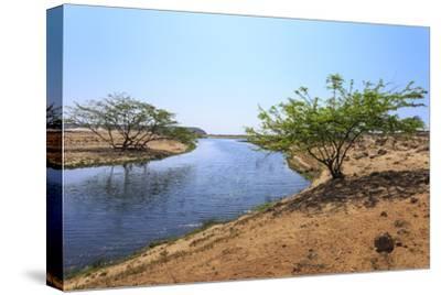 Tranquil Waters of Khor Rori (Rouri), Oman
