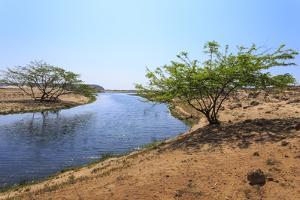Tranquil Waters of Khor Rori (Rouri), Oman by Eleanor Scriven
