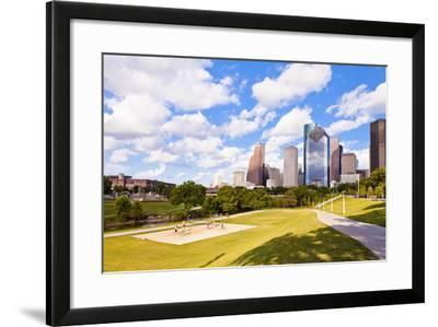 Eleanor Tinsley Park, Houston, Texas, United States of America, North America-Kav Dadfar-Framed Photographic Print