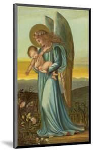 Guardian Angel Walks with a Child in Its Arms by Eleanor Vere Boyle